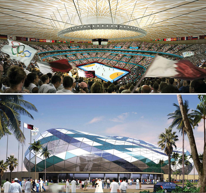 Lusail Multipurpose Sports Hall – Qatar